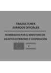 Traductores oficiales acreditados por el MAEC